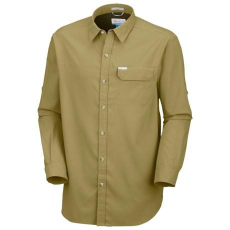 Columbia Sportswear Bug Shield Shirt - UPF 40, Long Sleeve (For Men) in White