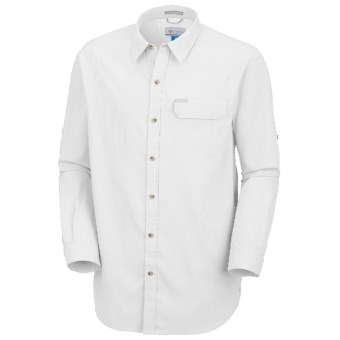 Columbia Sportswear Bug Shield Shirt - UPF 40, Long Sleeve (For Men) in White