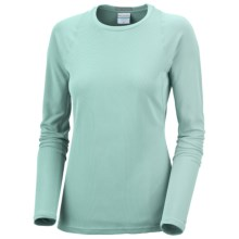 Columbia Sportswear Bug Shield Shirt - UPF 50, Long Sleeve (For Women) in Aqua Haze - Closeouts