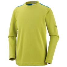 Columbia Sportswear Bug Shield Shirt - UPF 50, Long Sleeve (For Youth Boys) in Chartreuse - Closeouts