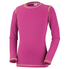 Columbia Sportswear Bug Shield Shirt - UPF 50, Long Sleeve (For Youth Girls) in Fuchsia - Closeouts
