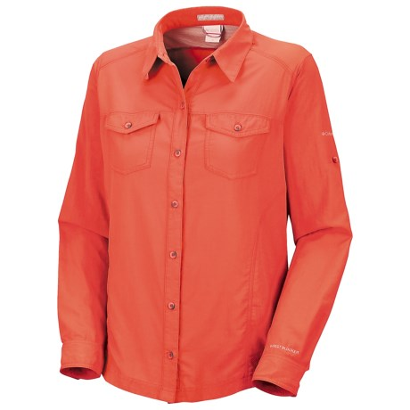 Columbia Sportswear Bug Shield Summit Cloth Shirt - UPF 30, Long Sleeve (For Women) in Corange