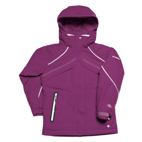 Columbia Sportswear Buga Girl Jacket - Insulated (For Girls) in Raspberry