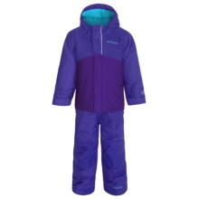Columbia Sportswear Buga Omni-Tech® Two-Piece Snow Suit - Waterproof, Insulated (For Toddlers) in Light Grape - Closeouts