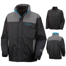 Columbia Sportswear Bugaboo 86 Parka - Waterproof, 3-in-1 (For Men) in Black/Grout/Compass Blue - Closeouts