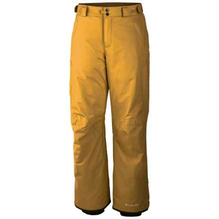 Columbia Sportswear Bugaboo II Pants - Insulated (For Men) in Pilsner - Closeouts