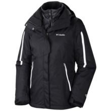 Columbia Sportswear Bugaboo Interchange Jacket - 3-in-1 (For Women) in Black - Closeouts