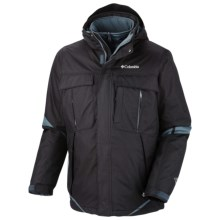 Columbia Sportswear Bugaboo Interchange Jacket - Insulated, 3-in-1 (For Big Men) in Black - Closeouts