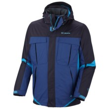Columbia Sportswear Bugaboo Interchange Jacket - Insulated, 3-in-1 (For Big Men) in Ebony Blue - Closeouts