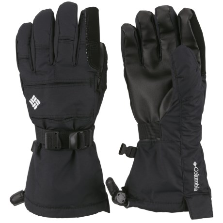 Columbia Sportswear Bugaboo Interchange Omni-Heat® Gloves - Waterproof, Insulated (For Youth) in Black