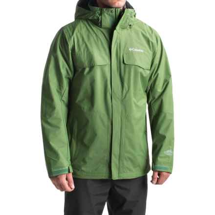 Columbia Sportswear Bugaboo Interchange Omni-Heat® Jacket - Waterproof, 3-in-1 (For Men) in Dark Backcountry - Closeouts