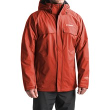 Columbia Sportswear Bugaboo Interchange Omni-Heat® Jacket - Waterproof, 3-in-1 (For Men) in Flame/Graphite - Closeouts