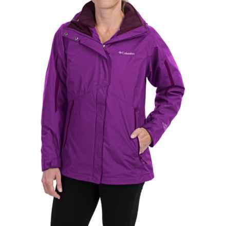 Columbia Sportswear Bugaboo Interchange Omni-Heat® Jacket - Waterproof, 3-in-1 (For Women) in Bright Plum/Purple Dahlia - Closeouts