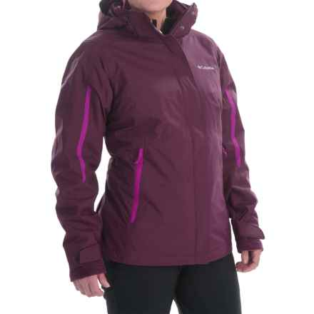 Columbia Sportswear Bugaboo Interchange Omni-Heat® Jacket - Waterproof, 3-in-1 (For Women) in Purple Dahlia - Closeouts
