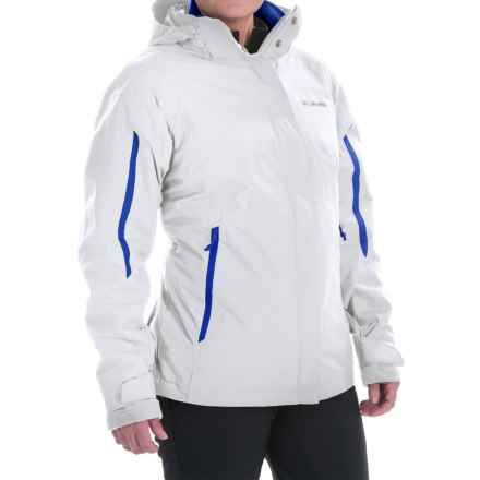 Columbia Sportswear Bugaboo Interchange Omni-Heat® Jacket - Waterproof, 3-in-1 (For Women) in White - Closeouts