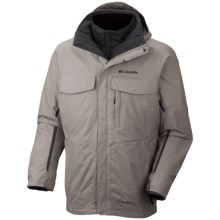 Columbia Sportswear Bugaboo Interchange Omni-Tech® Jacket - 3-in-1, Insulated (For Big Men) in 003 Boulder - Closeouts