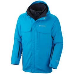Columbia Sportswear Bugaboo Interchange Omni-Tech® Jacket - 3-in-1, Insulated (For Big Men) in 003 Boulder