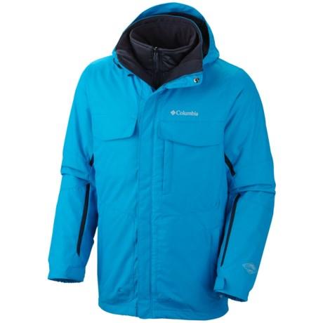 Columbia Sportswear Bugaboo Interchange Omni-Tech® Jacket - 3-in-1, Insulated (For Big Men) in 402 Dark Compass