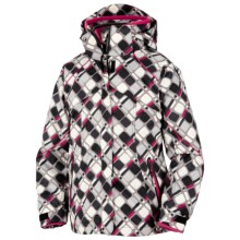 Columbia Sportswear Bugaboo Jacket - 3-in-1 (For Little Girls) in Black Geo Print - Closeouts