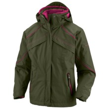 Columbia Sportswear Bugaboo Jacket - 3-in-1 (For Little Girls) in Surplus Green - Closeouts