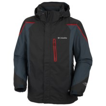 Columbia Sportswear Bugaboo Kustom Omni-Tech® Jacket - Waterproof (For Men) in Black - Closeouts