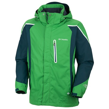 Columbia Sportswear Bugaboo Kustom Omni-Tech® Jacket - Waterproof (For Men) in Fuse Green