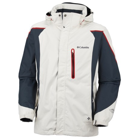 Columbia Sportswear Bugaboo Kustom Omni-Tech® Jacket - Waterproof (For Men) in Sea Salt