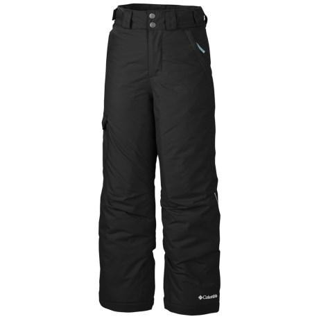 Columbia Sportswear Bugaboo Omni-Heat® Omni-Tech® Snow Pants - Waterproof, Insulated (For Girls) in Black