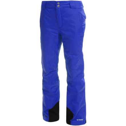 Columbia Sportswear Bugaboo Omni-Heat®, Omni-Tech® Snow Pants - Waterproof, Insulated (For Women) in Blue Macaw - Closeouts