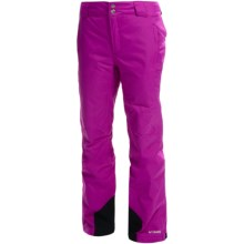 Columbia Sportswear Bugaboo Omni-Heat®, Omni-Tech® Snow Pants - Waterproof, Insulated (For Women) in Bright Plum - Closeouts