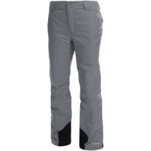 Columbia Sportswear Bugaboo Omni-Heat®, Omni-Tech® Snow Pants - Waterproof, Insulated (For Women) in Tradewinds Grey - Closeouts