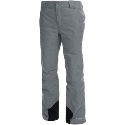 Columbia Sportswear Bugaboo Omni-Heat®, Omni-Tech® Snow Pants - Waterproof, Insulated (For Women) in Tradewinds Grey - Closeouts