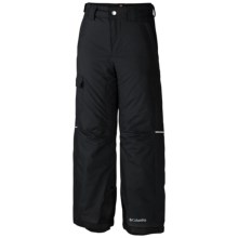 Columbia Sportswear Bugaboo Omni-Heat® Pants - Insulated (For Little and Big Boys) in Black - Closeouts