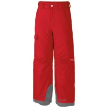 Columbia Sportswear Bugaboo Omni-Heat® Pants - Insulated (For Little and Big Boys) in Bright Red - Closeouts