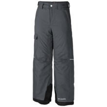 Columbia Sportswear Bugaboo Omni-Heat® Pants - Insulated (For Little and Big Boys) in Graphite - Closeouts