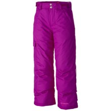 Columbia Sportswear Bugaboo Omni-Heat® Ski Pants - Waterproof, Insulated (For Little and Big Girls) in Bright Plum - Closeouts