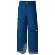 Columbia Sportswear Bugaboo Omni-Heat® Snow Pants - Insulated (For Little and Big Boys) in Marine Blue - Closeouts