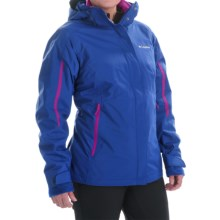 Columbia Sportswear Bugaboo Omni-Tech® Interchange Jacket - Waterproof, Insulated (For Women) in Blue Macaw/Bright Plum - Closeouts