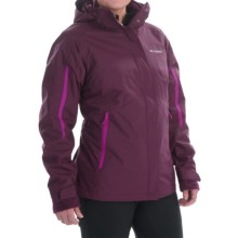 Columbia Sportswear Bugaboo Omni-Tech® Interchange Jacket - Waterproof, Insulated (For Women) in Purple Dahlia - Closeouts