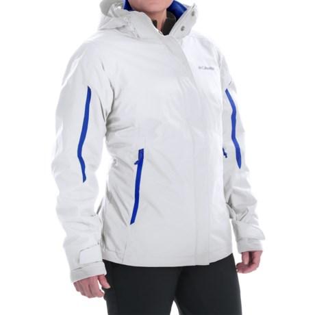 Columbia Sportswear Bugaboo Omni-Tech® Interchange Jacket - Waterproof, Insulated (For Women)