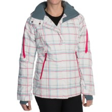 Columbia Sportswear Bugaboo Omni-Tech® Jacket - Waterproof, Insulated (For Women) in White Plaid Print - Closeouts