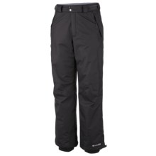 Columbia Sportswear Bugaboo Omni-Tech® Snow Pants - Insulated (For Men) in Black - Closeouts
