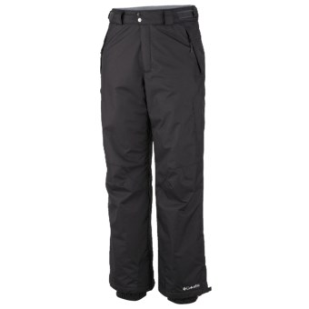 Columbia Sportswear Bugaboo Omni-Tech® Snow Pants - Insulated (For Men) in Black