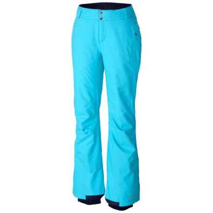 Columbia Sportswear Bugaboo Omni-Tech® Snow Pants - Insulated (For Women) in Atoll - Closeouts