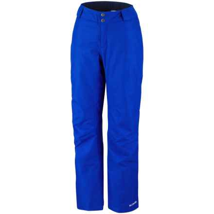Columbia Sportswear Bugaboo Omni-Tech® Snow Pants - Insulated (For Women) in Blue Macaw - Closeouts