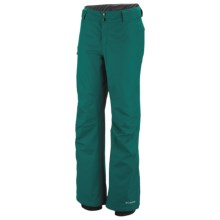 Columbia Sportswear Bugaboo Omni-Tech® Snow Pants - Insulated (For Women) in Emerald - Closeouts