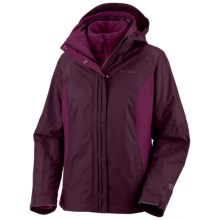 Columbia Sportswear Bugaboo Parka - 3-in-1 (For Women) in Black Cherry - Closeouts