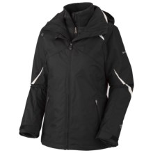 Columbia Sportswear Bugaboo Parka - 3-in-1 (For Women) in Black/Sea Salt - Closeouts