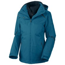 Columbia Sportswear Bugaboo Parka - 3-in-1 (For Women) in Dark Turquoise/Deep Teal - Closeouts