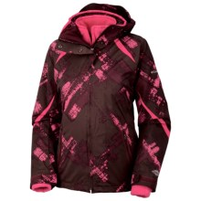 Columbia Sportswear Bugaboo Parka - 3-in-1 (For Women) in Elderberry Plaid/Bright Rose - Closeouts